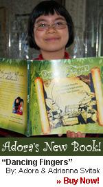"""Buku baru karya Adora, berjudul """"Dancing Fingers"""""""
