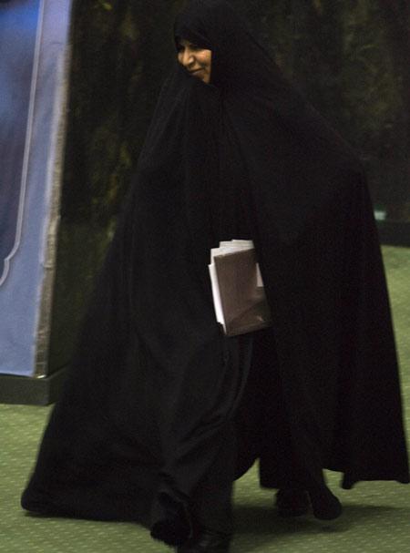Marzieh akan menduduki posisi Menteri Kesehatan. Reuters/Morteza Nikoubazl